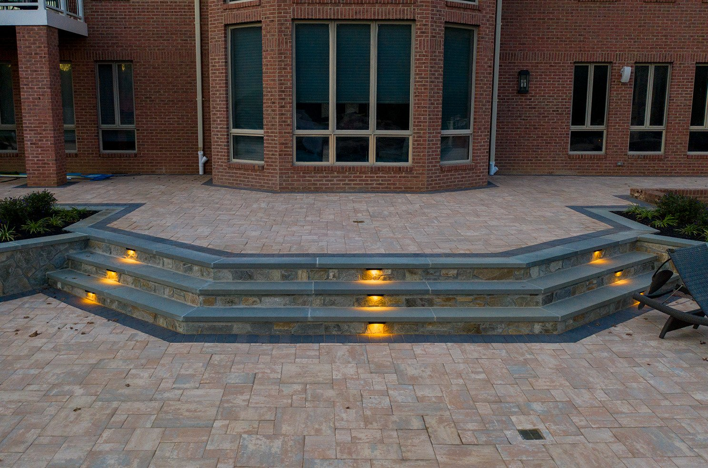 hardscape patio lights