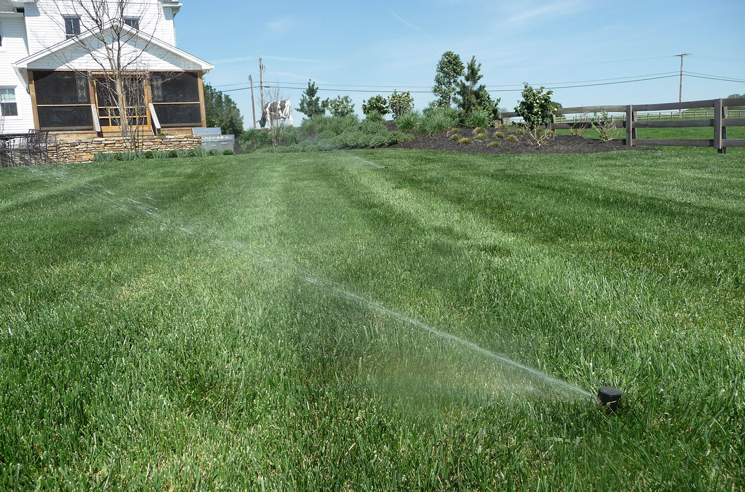 lawn irrigation system contractor howard county md