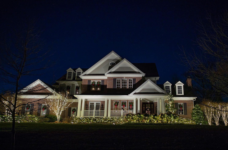 aqua bright holiday lights