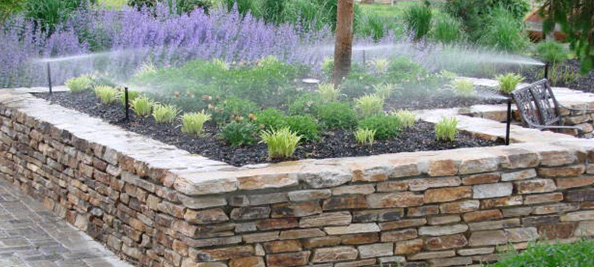 lawn irrigation system install