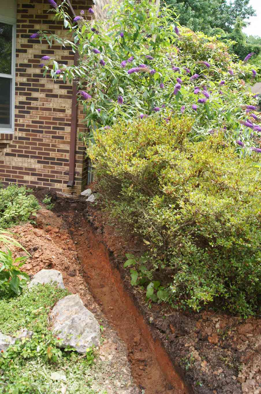exterior basement flooding repair company