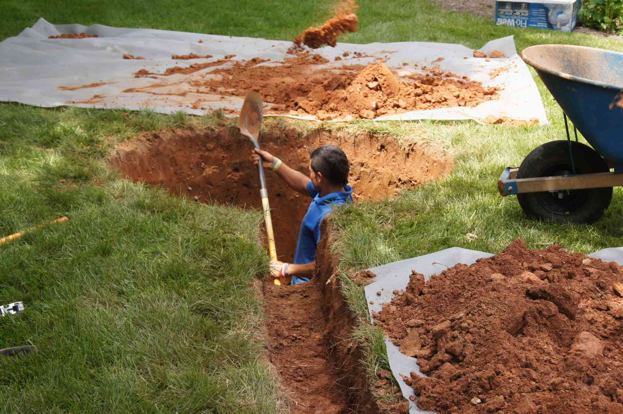 howard county drainage repair