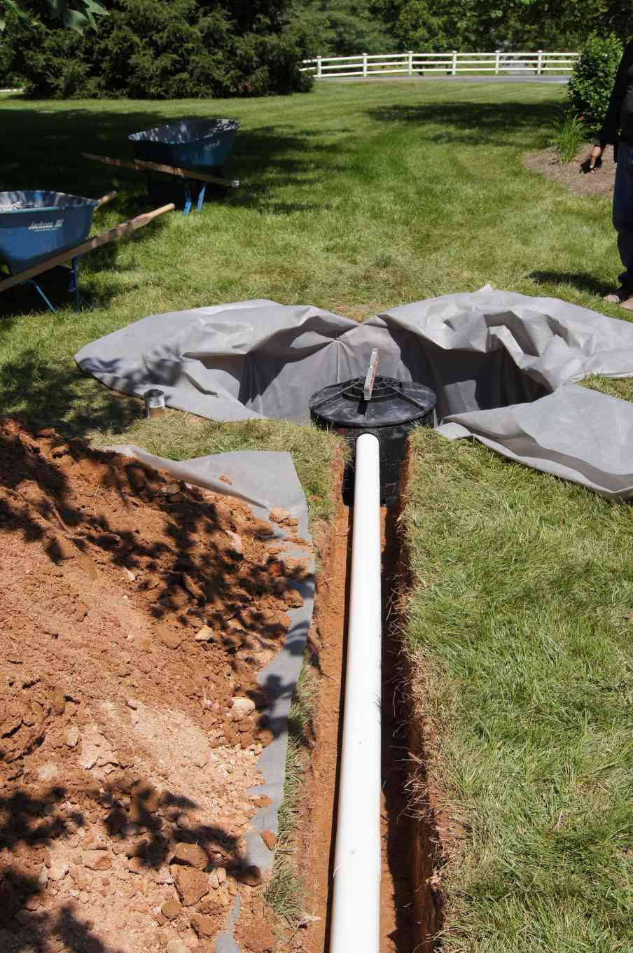 best drainage repair for my home