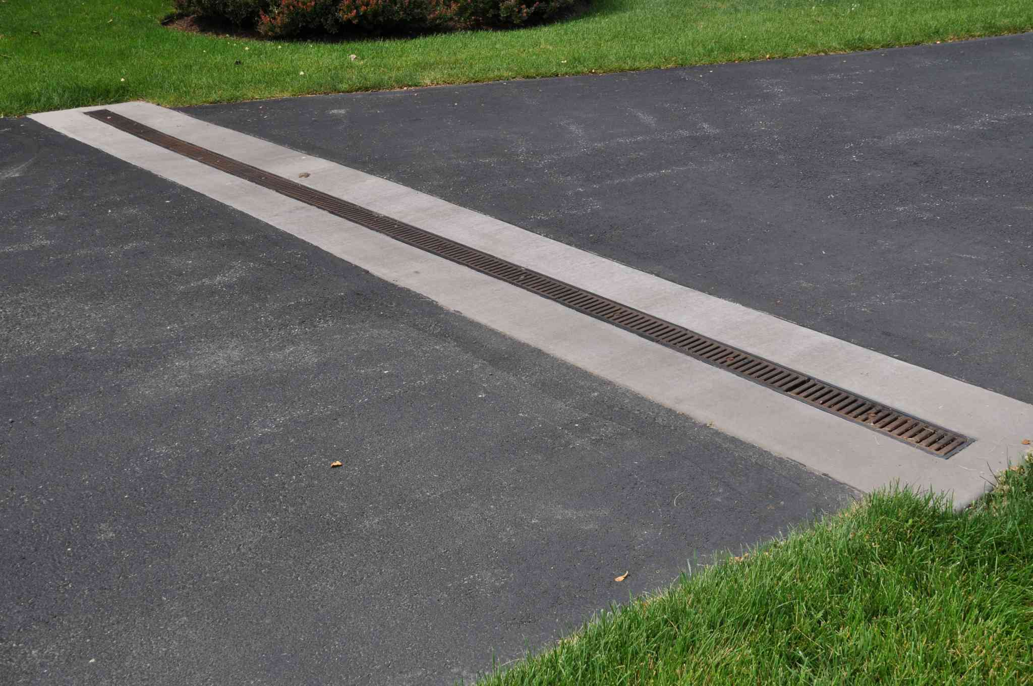 channel drain installation