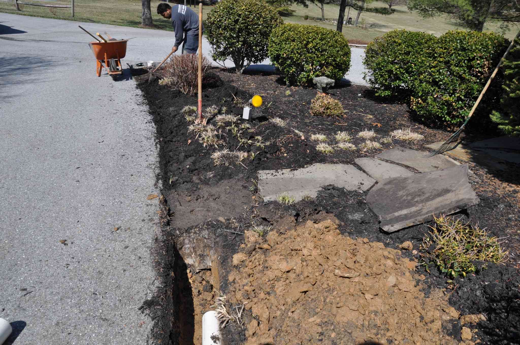 drainage repair in montgomery county