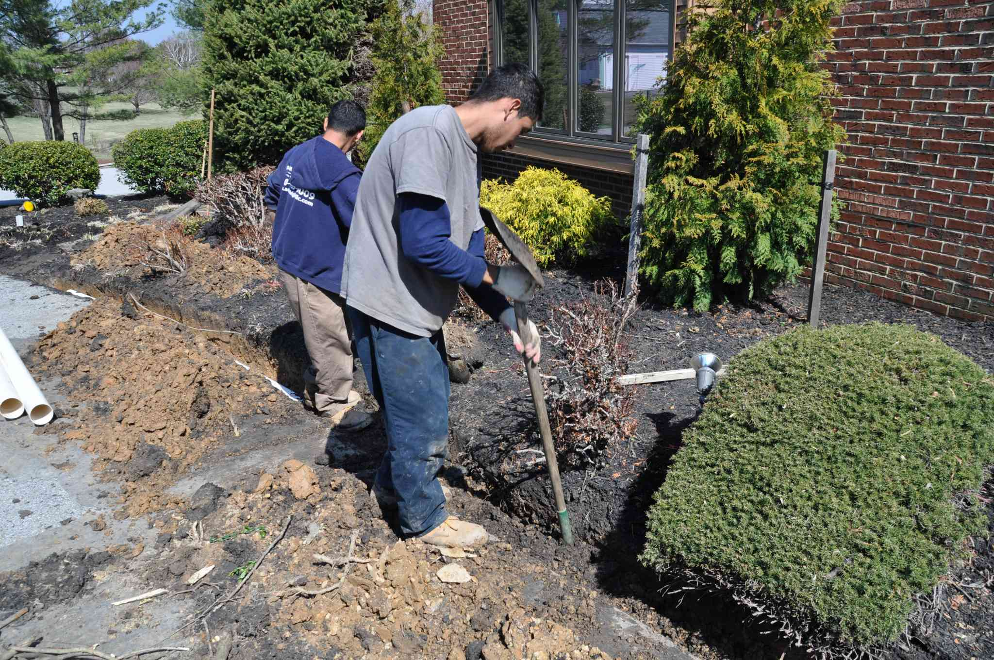 drainage repair in howard county