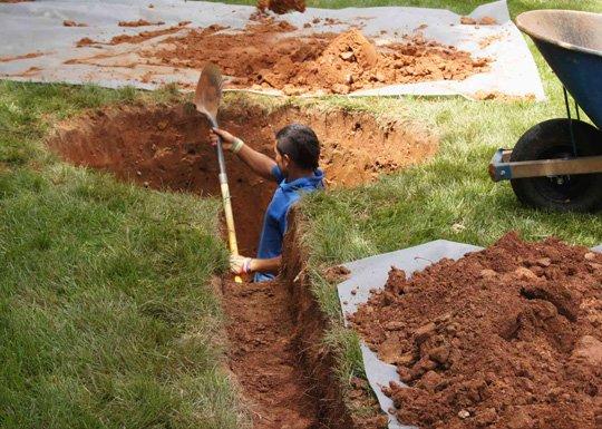 drainage services contractor washington dc
