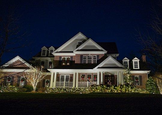 holiday lighting install designer