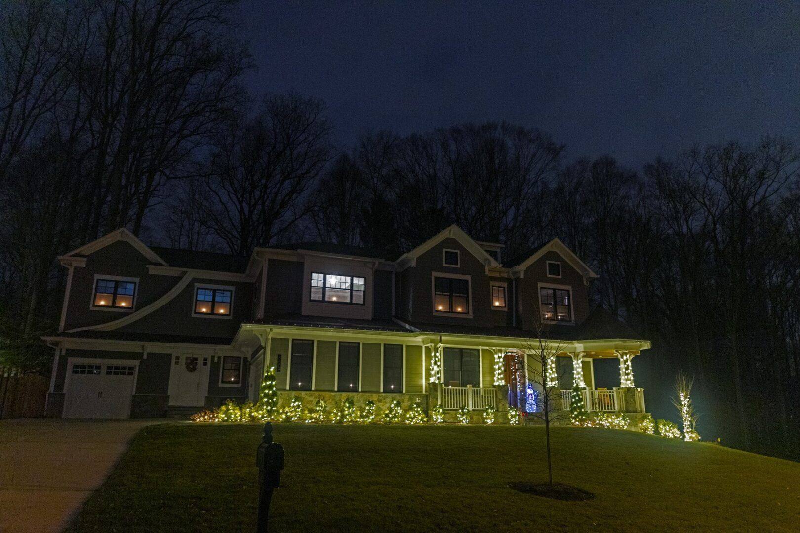 christmas lights installation setup