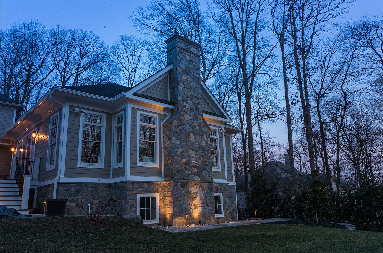 best landscape lighting contractor installation