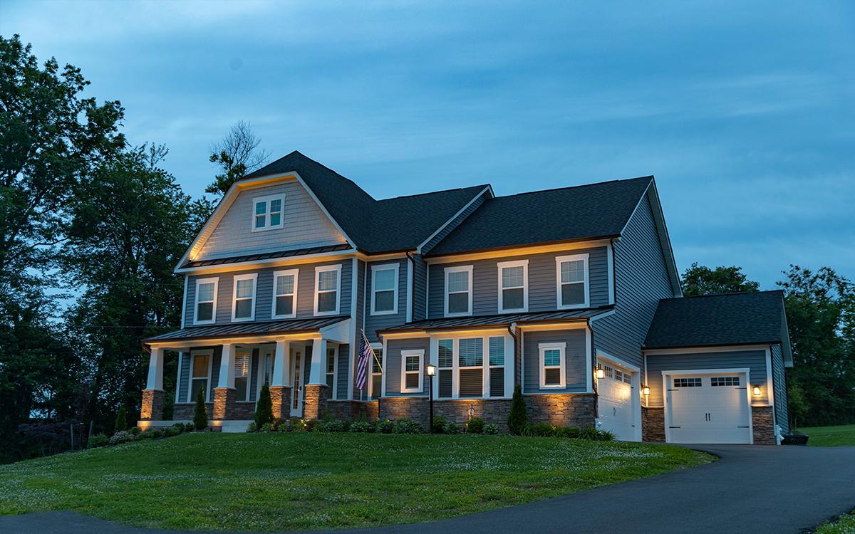home lights installation landscaping