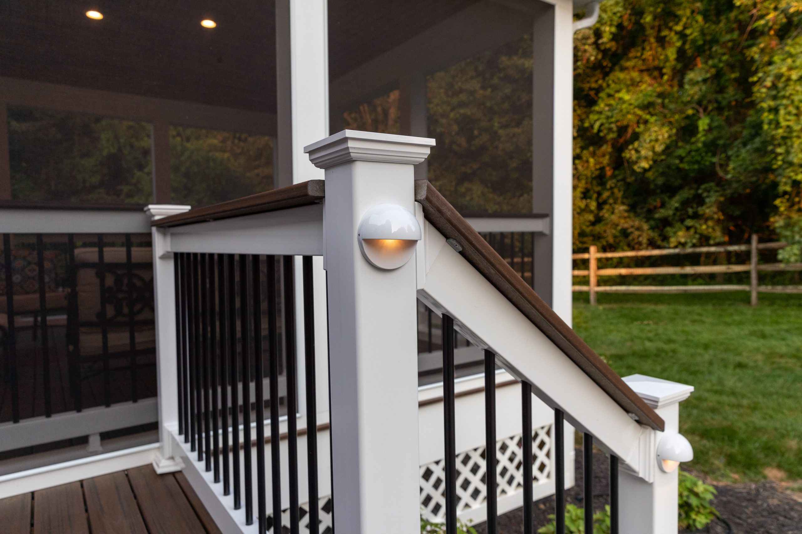 deck post lights