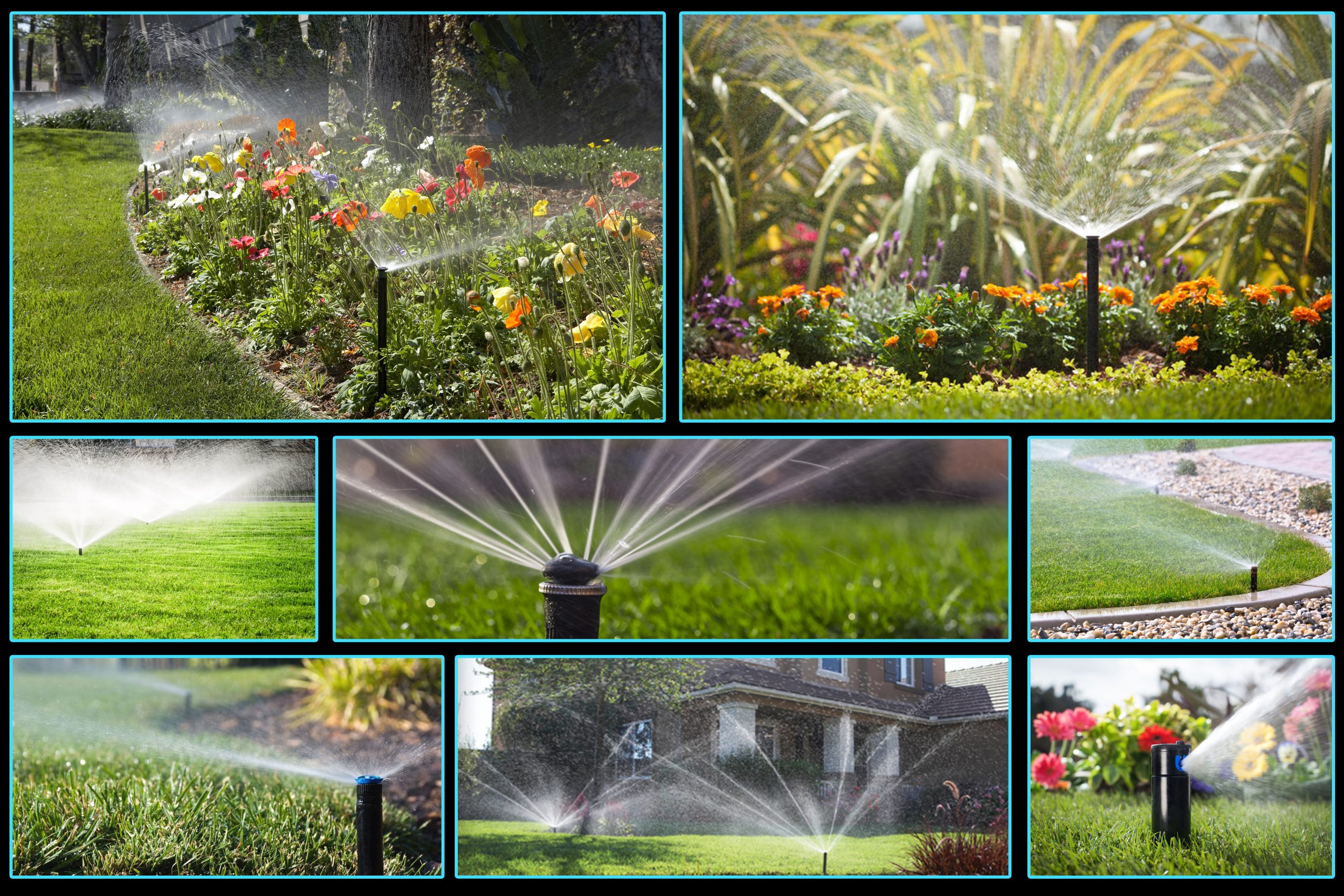 lawn irrigation system installation and service