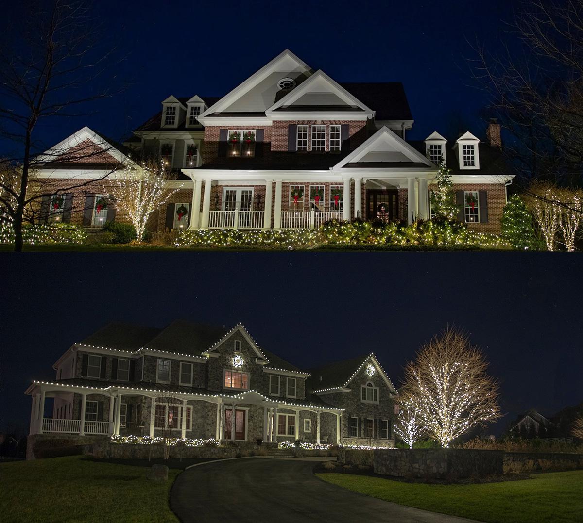 christmas holiday light installation design